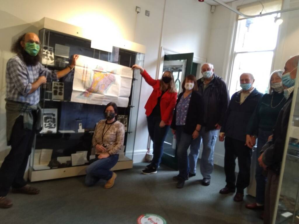 Geology Tour, Radnorshire Museum 7 October 2021